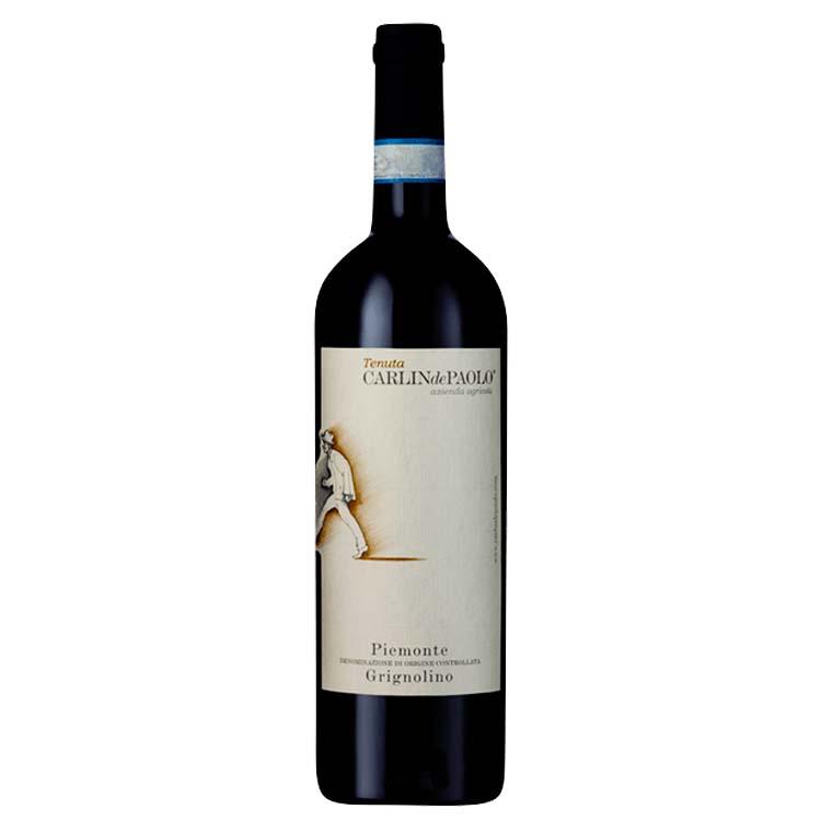 Rotwein Albugnano DOC Piemonte von CarlindePaolo