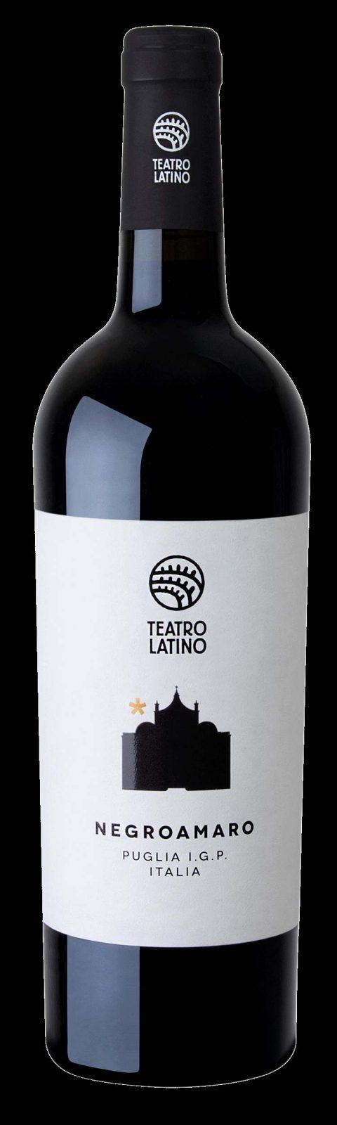 Negroamaro Puglia IGP Teatro Latino von VianelloWines - Ein gefälliger Rotwein aus dem Süden Italiens - bestens geeignet auch für den spontanen Genuß