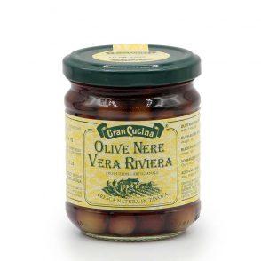 Olive Nere Vera Riviera - Schwarze Oliven