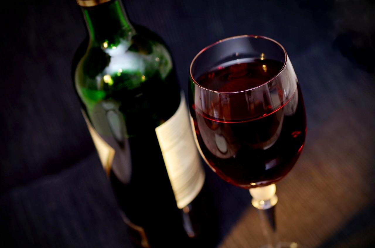 Italienische Weine Rotwein-Saison
