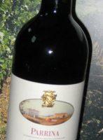 Parrina Sangiovese DOC von der Antica Fattoria La Parrina - ein unkomplizierter fruchtbetonter Rotwein zu 100 % aus der Sangiovese-Traube gewonnen
