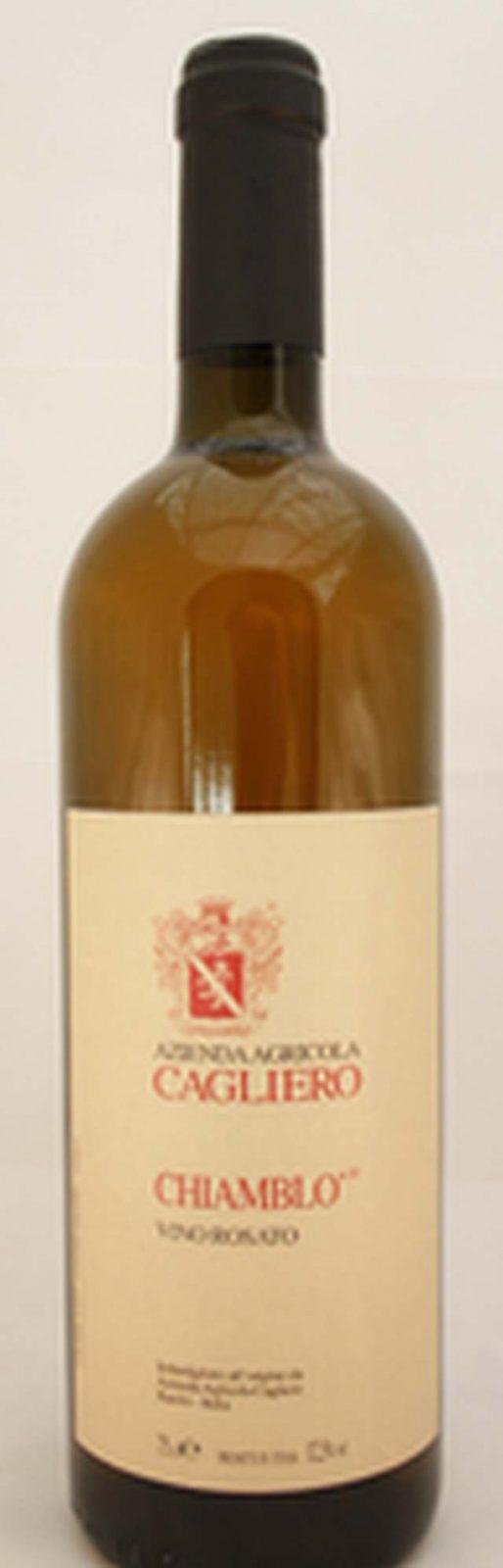 Chiamblò – Vino Rosato von Az. Agr. Cagliero