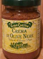 Crema di Olive nere von TAB Green Line Srl - Gran Cucina aus dem Piemont - eine aromatische und sehr geschmackvolle Olivencrème