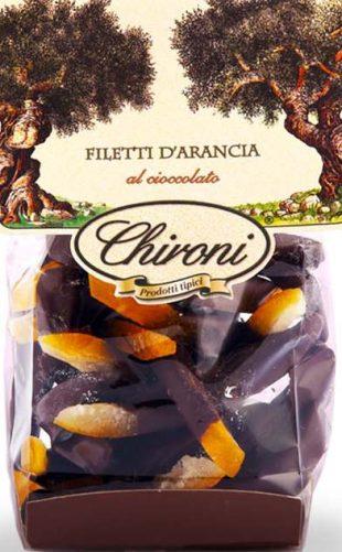 Filetti d'arancia al cioccolato - kandierte Orangenstäbchen