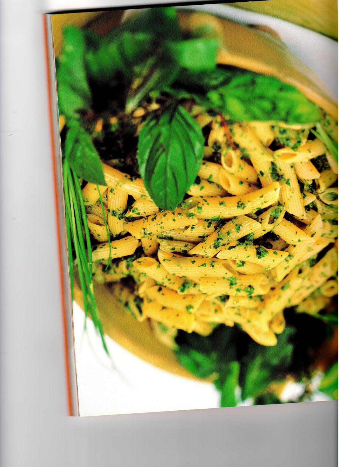 Penne con salsa verde